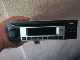 Proton Saga Stock Clarion head unit
