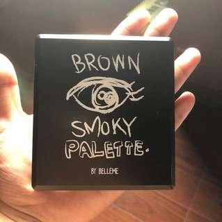 Brown Smokey Pallete