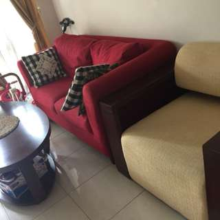 Sofa dan coffee table