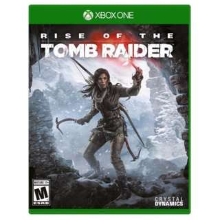 Xbox One - Rise of the Tomb Raider (Brand New)
