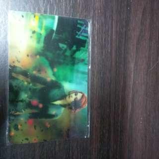 Black widow avengers ezlink sticker free postage
