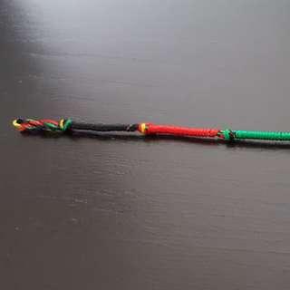 Handmade anklet from Sri Lanka