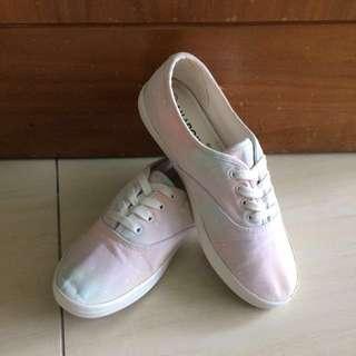 #Bajet20 Light Pastel Galaxy Sneakers Shoes