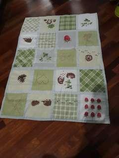 Ikea baby cot blanket