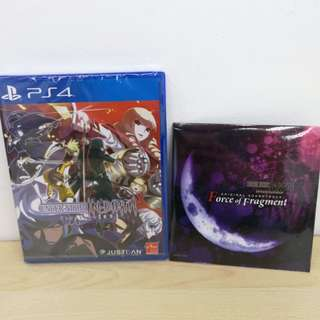 (Brand New) PS4 Under Night In-Birth Exe Late ST with bonus soundtrack / R3
