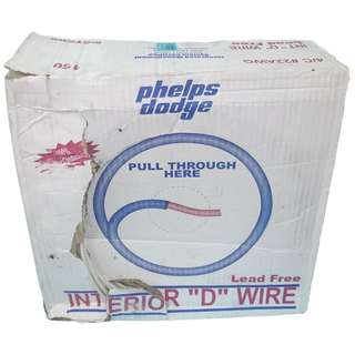 P.D. TELEPHONE wire no. 22/4c x 150mtrs PHELPS DODGE