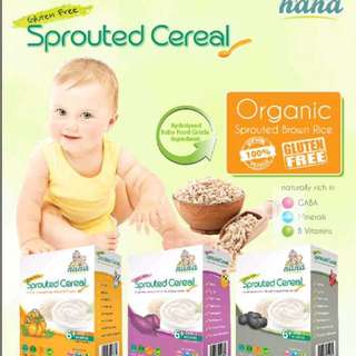 Spourted Cereal Gluten Free