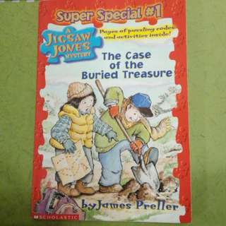 Super Special #1:The Case of the Buried Treasure