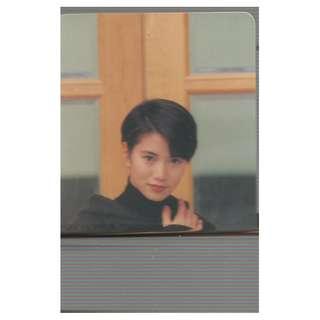 51-U,YES CARD,袁詠儀,背面-ANITA YUEN 最喜歡的女藝人