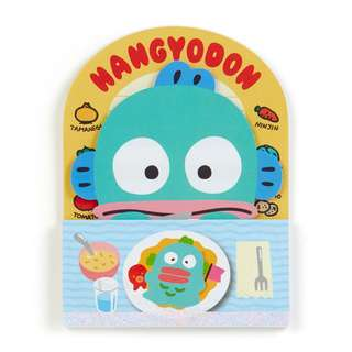 Japan Sanrio Hangyodon Meal Notes