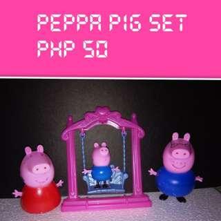 Peppa Pig Toy set