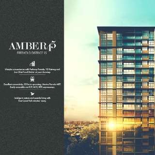 Amber 45 ~~ RARE FREEHOLD New Condo Launch! Register for VVIP Discounts! Showflat opening soon!