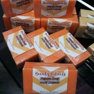 Papaya Herbal Whitening Soap