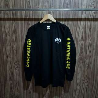 Kaos Undefeated X A Bathing Ape premium Distro