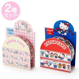 Japan Sanrio Hello Kitty Masking Tape Set