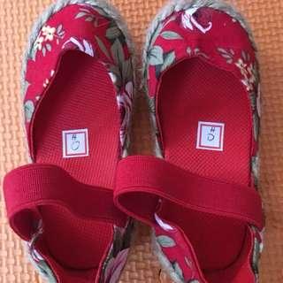 Kids espadrille shoes
