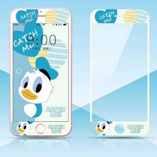 保護膜 IPhone6/7/8/plus : 廸士尼納米軟邊膜