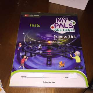 My Pals Are Here Science 3 & 4 Tests