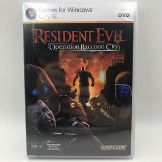PC Resident Evil Operation Raccoon City