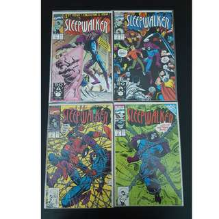 Sleepwalker #1-8 (1991) Set of 8 Books