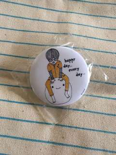 Happy Day Every Day Pin