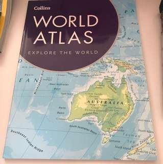 Book- Collins World Atlas Paperback Edition