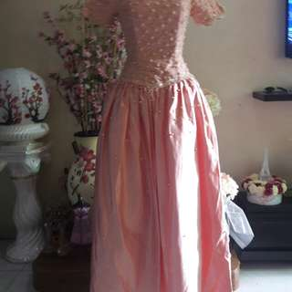 For Sale:Peach Debut Ball Gown by Erwin Tan