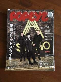 Popeye Nov '10 (Japanese)