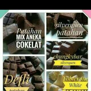 Coklat silverquen berbanyak farian patahan