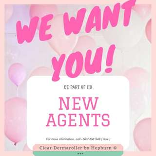 OPEN FOR NEW AGENTS