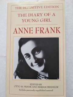 Anne Frank: The Diary Of A Young Girl, The Definitive Edition