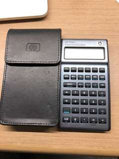 Hp financial calculator 17bli+