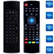 Support Smart Tv, Andriod Box, Andriod to box, Laptop, Computer. M3, 2.4GHz, 81 Keys, Mini Wireless Air Mouse Remote Controller