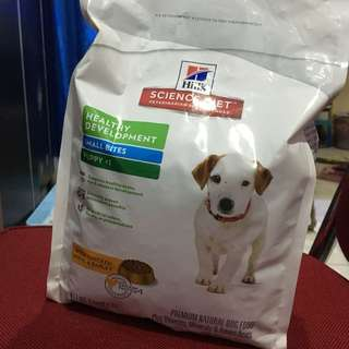 Science diet for puppy 2kg