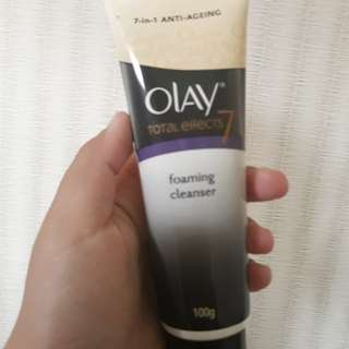 OLAY TOTAL EFFECTS 7 FOAMING CLEANSER