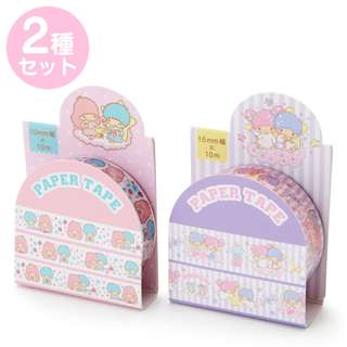 Japan Sanrio Little Twin Stars Masking Tape Set