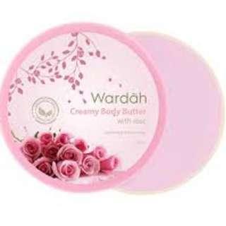 WARDAH Body Butter Rose 50ml