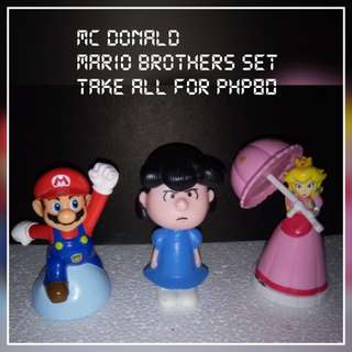 Mario Brother toy Set
