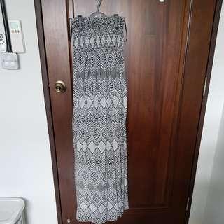 🚚 Forever 21 Tribal Tube Maxi Dress