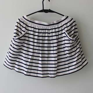 Nichii Stripe Skirt #MidValley