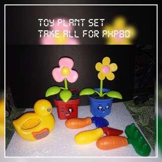 Plant toy set