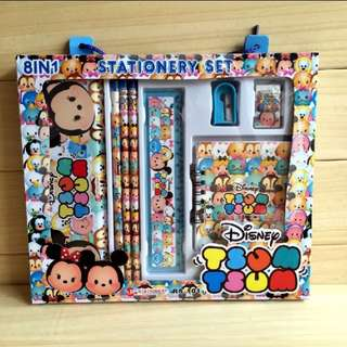 Children cartoon stationary set