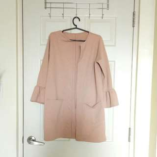 Free Shipping: Bell Sleeves Coat