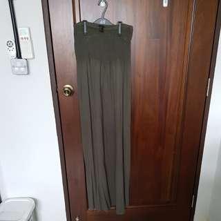 🚚 Forever 21 Military Green Tube Dress
