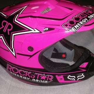 FOX Racing Helmet (RockStar edition)