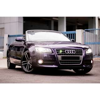 Audi A5 Cabriolet 2.0 Auto TFSI quattro S-tronic