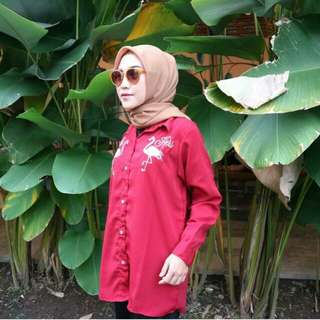 FLAMY BLOUSE