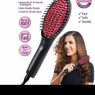 hairbrush straightiner