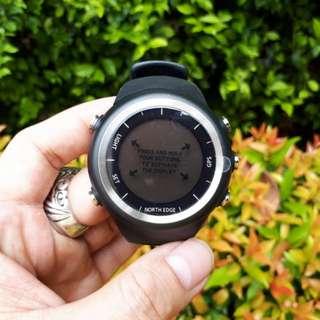 Jam Tangan Outdoor North Edge X-Trek New GPS Speed Running Hiking Waterproof