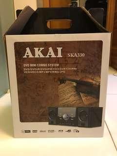 全新 AKAI DVD mini HIFI